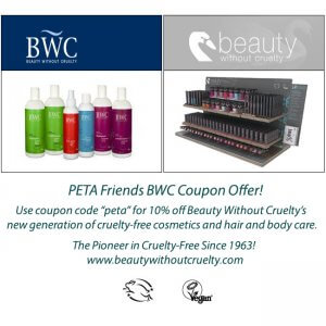 Beauty Without Cruelty Coupon