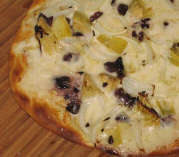 Pizza Bianca Surprise