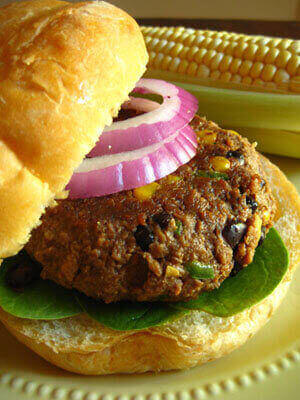 Southwest Veggie Burger