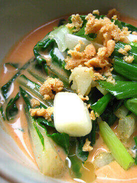 Bok Choy With Lime Dressing