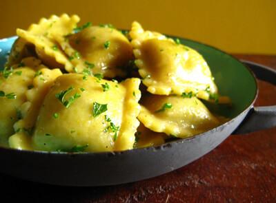 Ravioli Veg Cooking