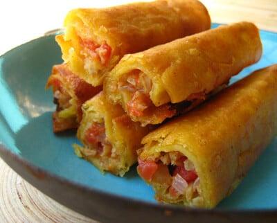 Soy Chicken Taquitos Recipe