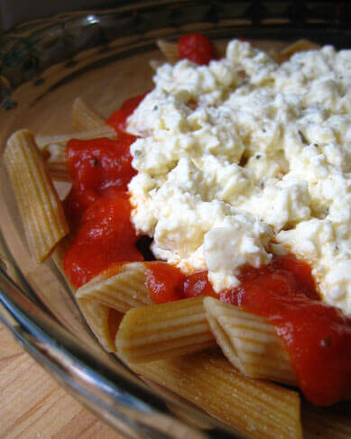 Cheap Eats: Tofu-Ricotta Pasta