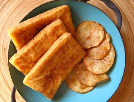 Tofu Fish 'n' Chips