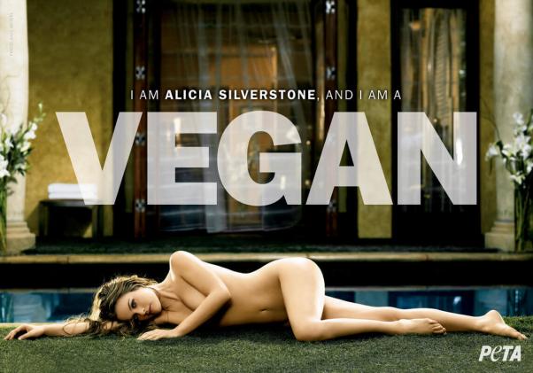 Alicia Silverstone PSA (Nude)