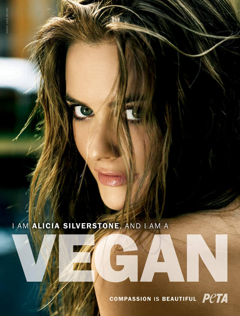 Alicia Silverstone Teaches Oprah to Flirt With Veganism | PETA