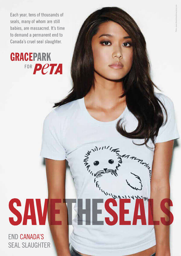 GRACE PARK: SAVE THE SEALS PSA