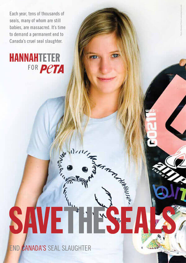 HANNAH TETER: SAVE THE SEALS PSA