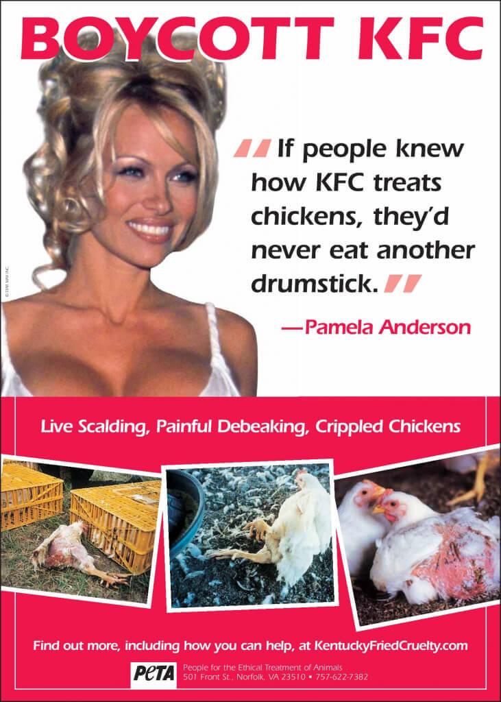 Pam Anderson KFC PSA