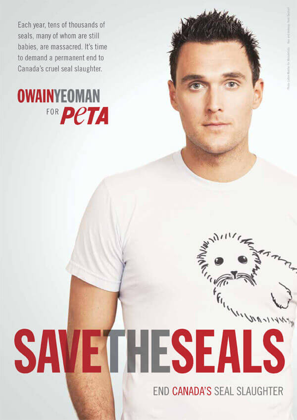 PETA: Celebrity Supporters - Look to the Stars