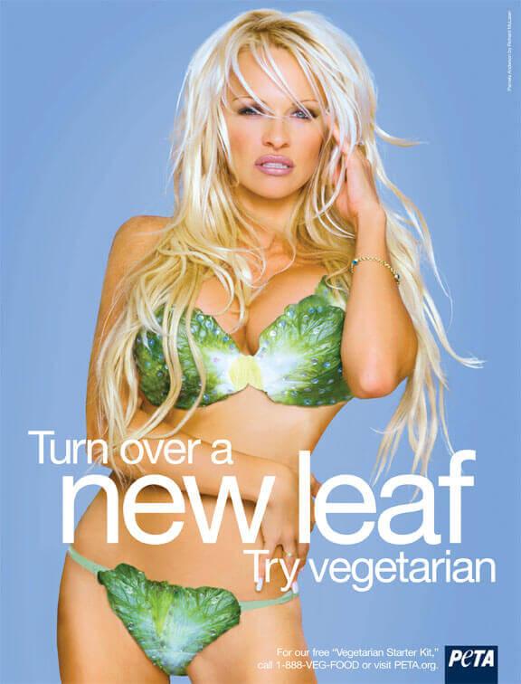 Pam Anderson Vegetarian PSA