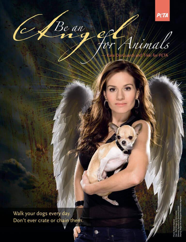 Kara DioGuardi Angel for Animals PSA