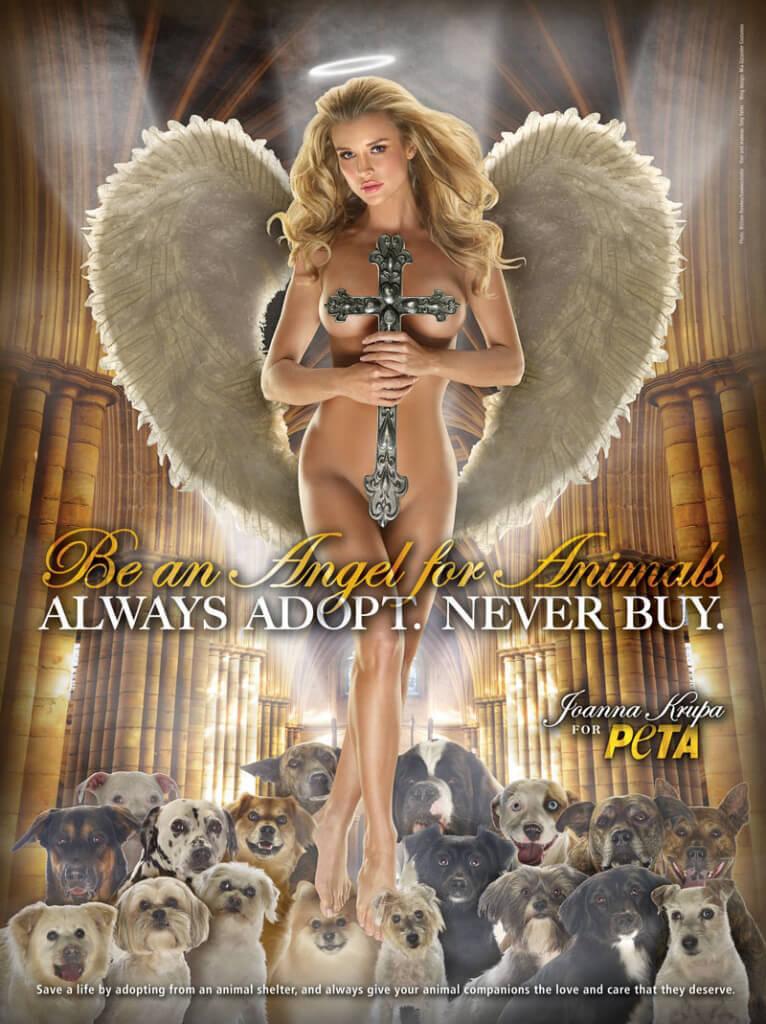 Joanna Krupa: Angel for Animals (Church) PSA