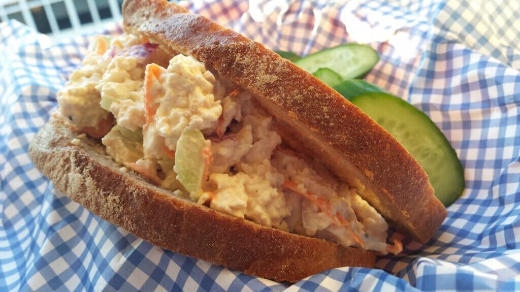 Tofu Tuna Salad Sandwich