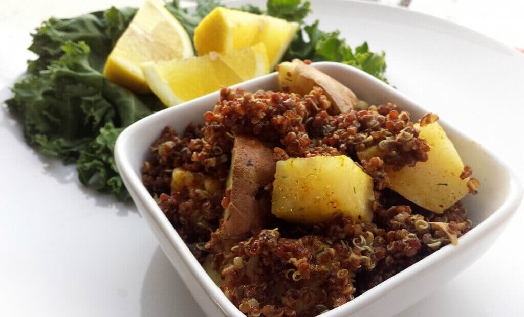 Quinoa Potato Salad