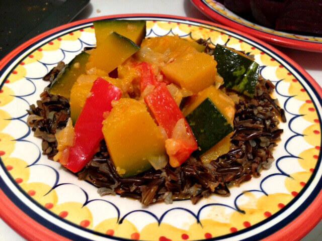 Kabocha Squash Curry