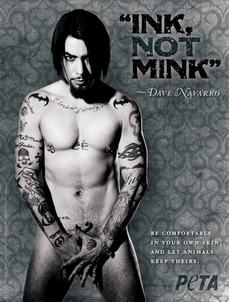 DAVE NAVARRO Ink Not Mink PSA