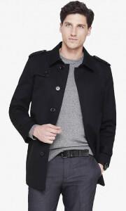 Express Mens coat