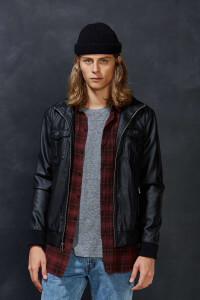 urban outfitters mens moto jacket