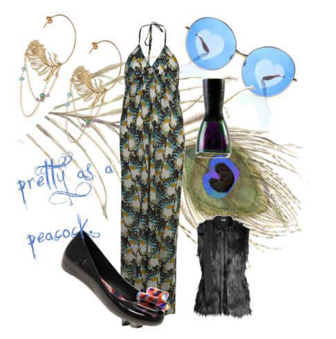 Fashion Friday: Pretty as a Peacock