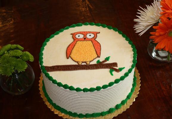 Cute Cake of the Week: Strawberry Owl Cake