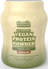 Puritan's Pride Good 'n Natural Vegan Protein Powder