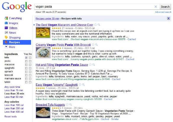 google-recipe-screenshot