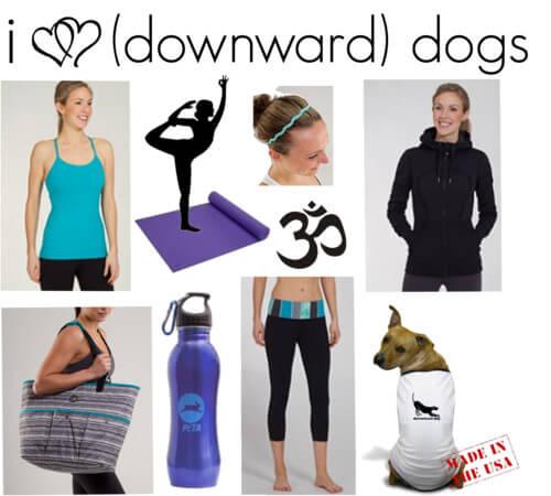Fashion Friday: I <3 (Downward) Dogs