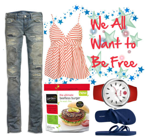 Fashion Friday: We All Want to Be Free