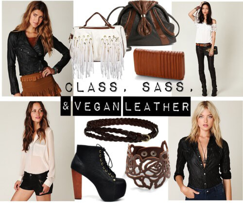 Fashion Friday: Class, Sass, and Vegan Leather