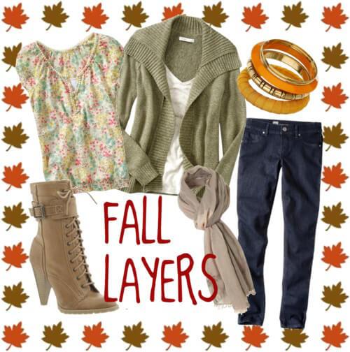 Fashion Friday: Fall Layers