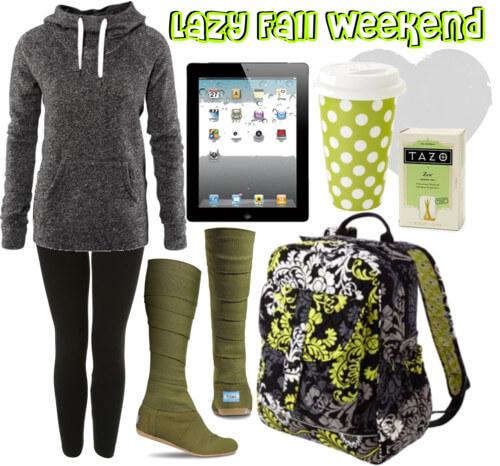 Fashion Friday: Lazy Fall Weekend