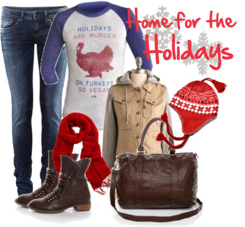 Fashion Friday: Home for the Holidays