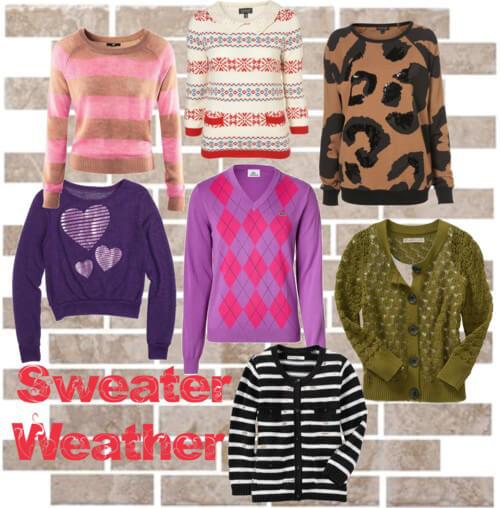 Fashion Friday: Sweater Weather
