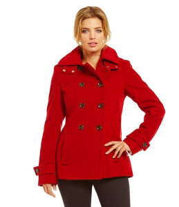Calvin Klein coat red