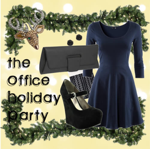 Fashion Friday: The Office Holiday Party