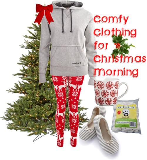 Fashion Friday: Comfy Clothing for Christmas Morning