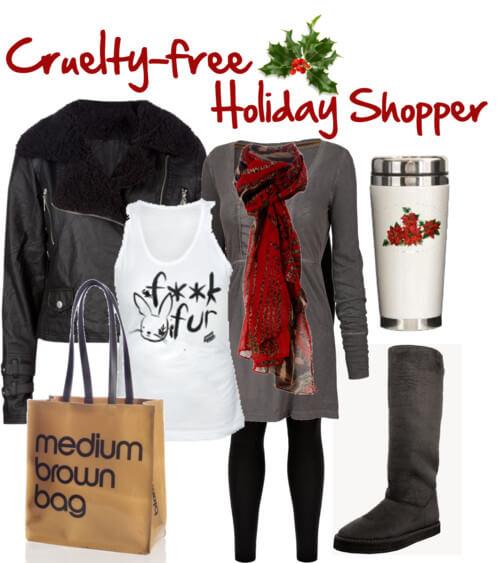 Fashion Friday: Cruelty-Free Holiday Shopper