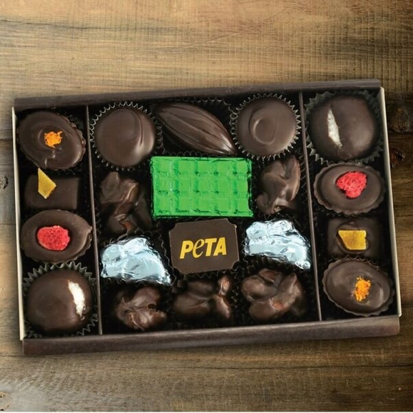 peta holiday chocolate box