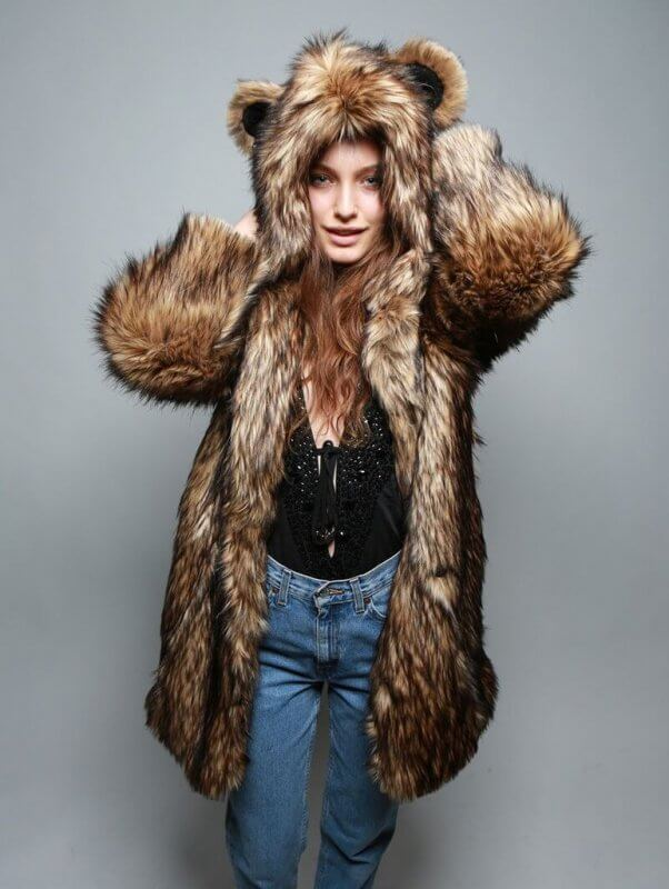 spirithoods-grizzly-vegan-fur-coat