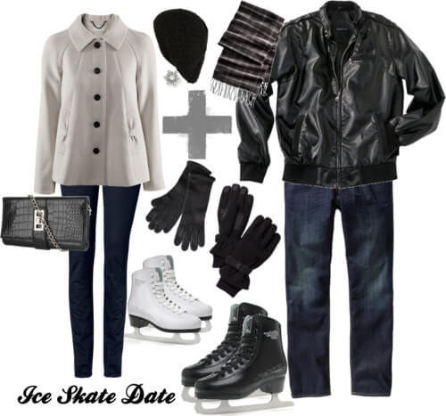 Fashion Friday: Ice Skate Date