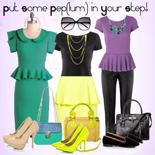 Fashion Friday: Put Some Pep(lum) in Your Step!