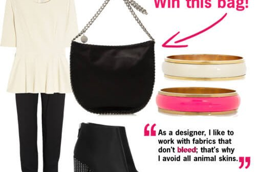 Fashion Friday: Leather-Free and Lovely