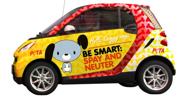 Be Smart: Spay and Neuter (Smart Car)