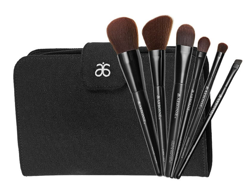 6acd7554c2e4 Arbonne brushes feel super soft, and their natural reclaimed wood handles  are dyed with water-based pigment.