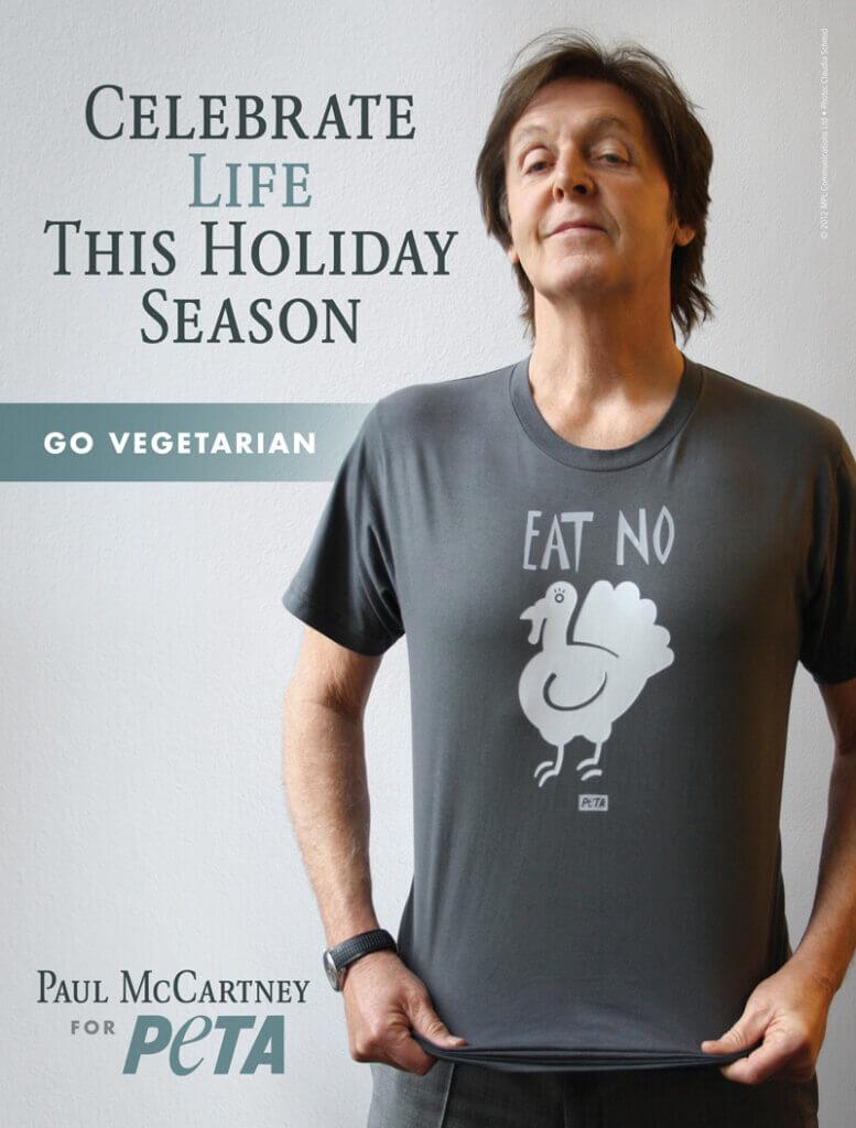 Paul McCartney Vegetarian PSA