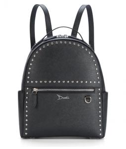 Studded Vegan Leather Bag by Doshi