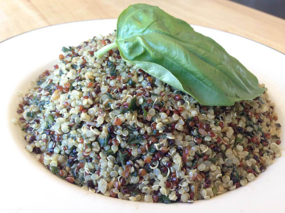 Quinoa Pesto