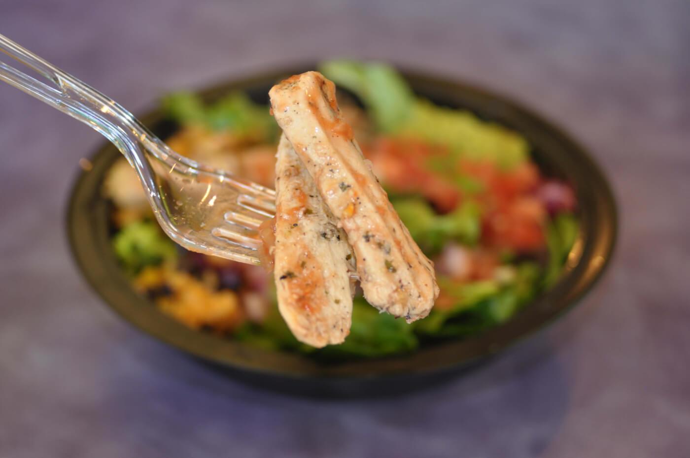 Tropical Smoothie Cafe Chicken Caesar Salad