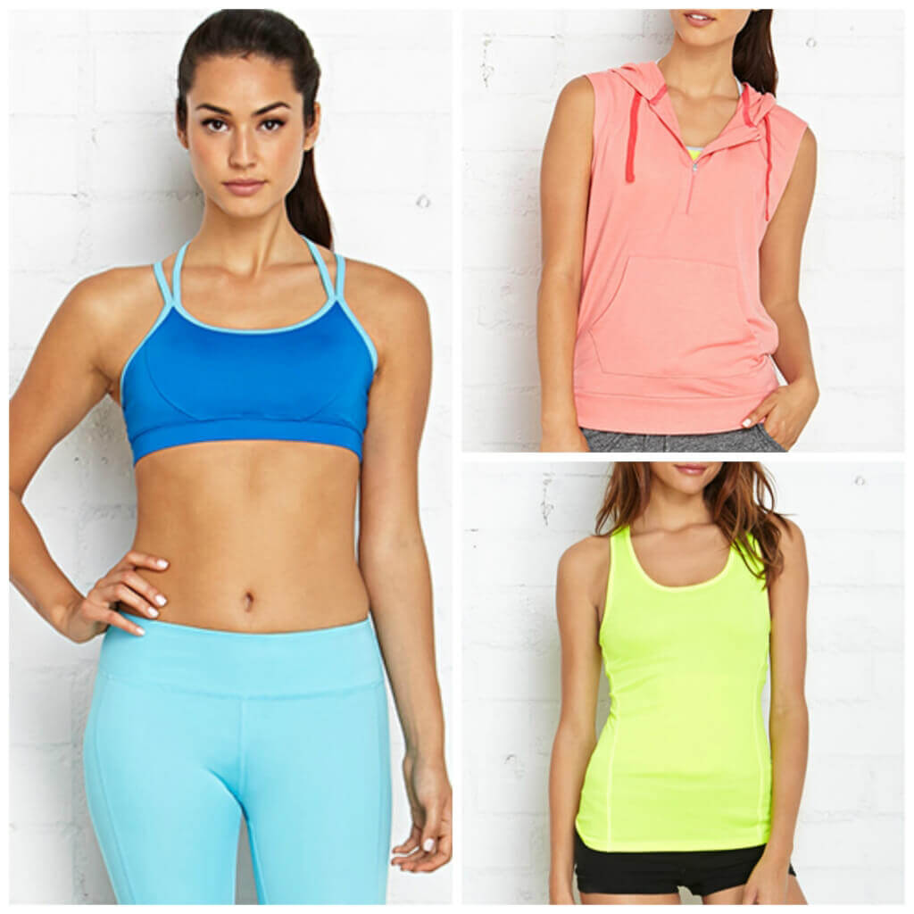 Workout Active Wear from Forever 21